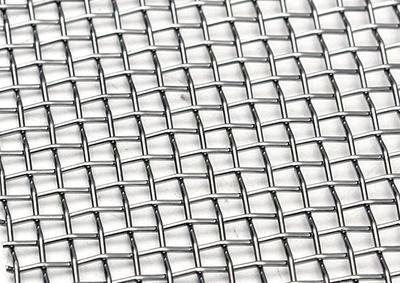 Сетка тканая нержавеющая с квадратными ячейками