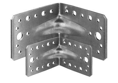 Крепежные уголки усиленные оцинкованные KUU