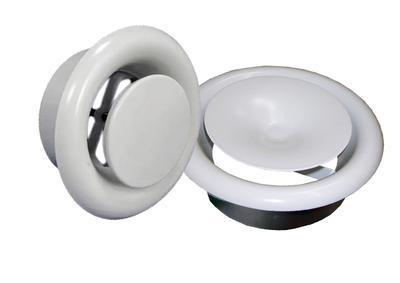 Вентиляционные пластиковые универсальные диффузоры